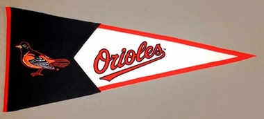 Baltimore Orioles Large Wool Pennant