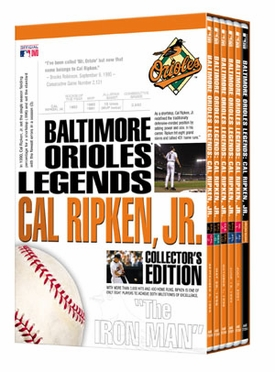 Baltimore Orioles Legends: Cal Ripken, Jr. Collector's Edition DVD