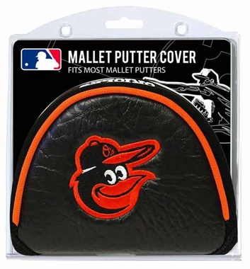 Baltimore Orioles Mallet Putter Cover