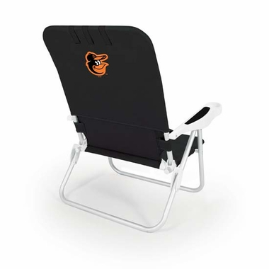 Baltimore Orioles Monaco Beach Chair (Black)