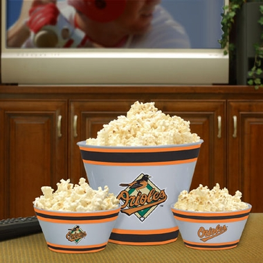 Baltimore Orioles Plastic Serving Set