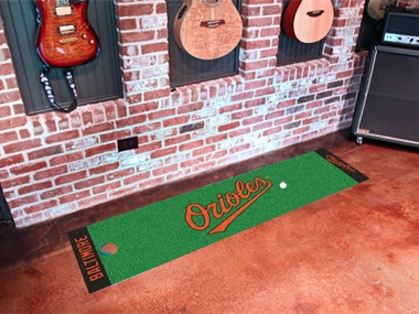 Baltimore Orioles Putting Green Mat