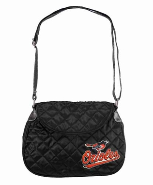 Baltimore Orioles Quilted Saddlebag