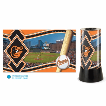 Baltimore Orioles Rotating Lamp