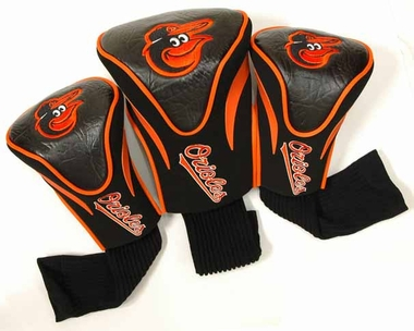 Baltimore Orioles Set of Three Contour Headcovers