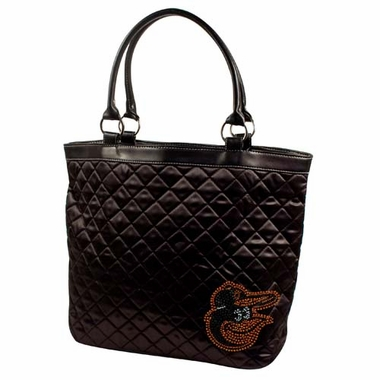 Baltimore Orioles Sport Noir Quilted Tote