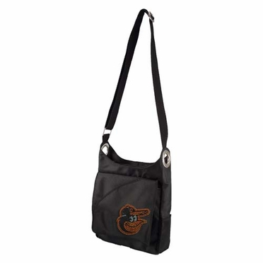 Baltimore Orioles Sport Noir Sheen Crossbody Bag