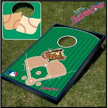 Baltimore Orioles Tailgate Toss Cornhole Beanbag Game
