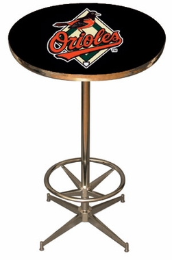 Baltimore Orioles Team Pub Table