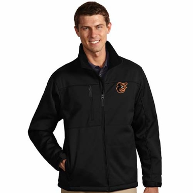 Baltimore Orioles Mens Traverse Jacket (Team Color: Black)