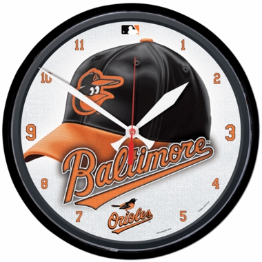 Baltimore Orioles Wall Clock