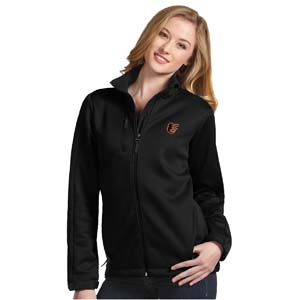 Baltimore Orioles Womens Traverse Jacket (Color: Black) - Small