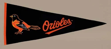 Baltimore Orioles Wool Pennant