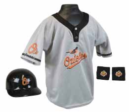 Baltimore Orioles YOUTH Helmet and Jersey Set