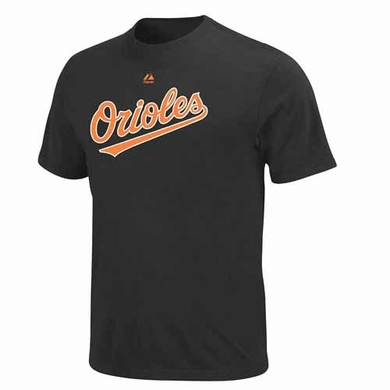 Baltimore Orioles YOUTH Official Wordmark T-Shirt - Black