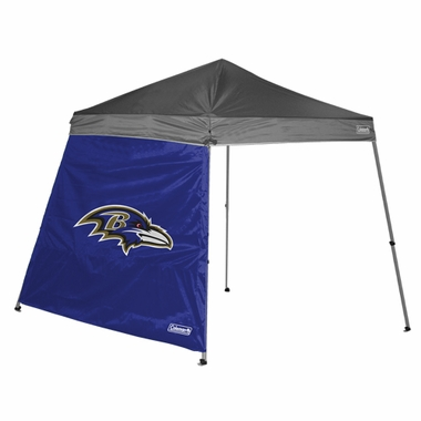 Baltimore Ravens 10 x 10 Slant Leg Shelter Panel