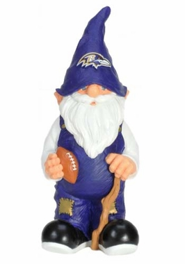 "Baltimore Ravens Garden Gnome - 11"" Male"
