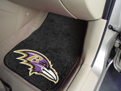 Baltimore Ravens 2 Piece Car Mats