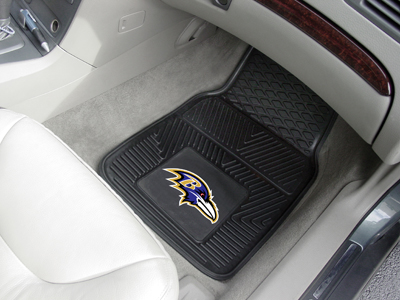 Baltimore Ravens 2 Piece Heavy Duty Vinyl Car Mats