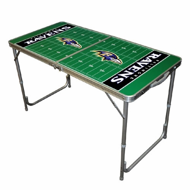 Baltimore Ravens 2 x 4 Foot Tailgate Table