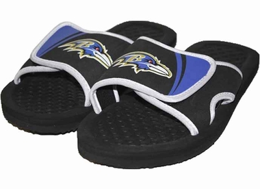 Baltimore Ravens 2013 Shower Slide Flip Flop Sandals