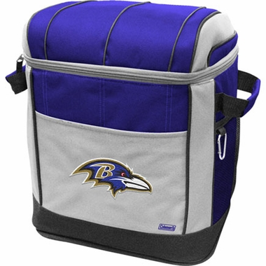 Baltimore Ravens 50 Can Soft Side Cooler
