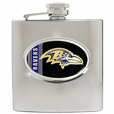 Baltimore Ravens 6 oz. Hip Flask