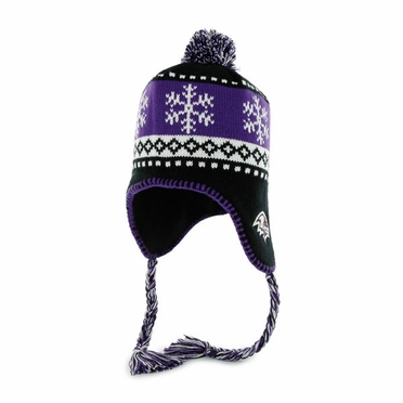 Baltimore Ravens Abomination Tassel Knit Hat