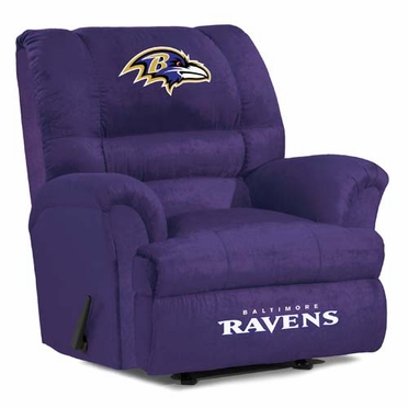 Baltimore Ravens Big Daddy Recliner