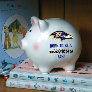 Baltimore Ravens (Born to Be) Piggy Bank