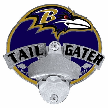 Baltimore Ravens Bottle Opener Hitch Cover