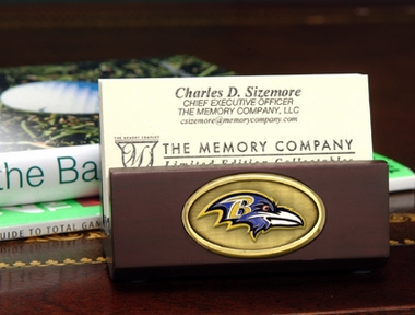 Baltimore Ravens Business Card Holder