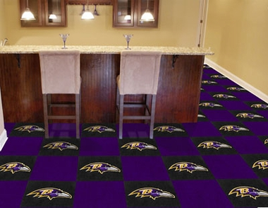 Baltimore Ravens Carpet Tiles