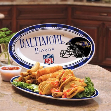 Baltimore Ravens Ceramic Platter