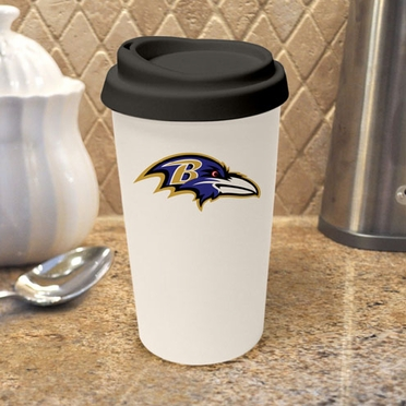 Baltimore Ravens Ceramic Travel Cup