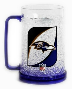 Baltimore Ravens Crystal Freezer Mug