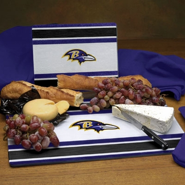 Baltimore Ravens Cutting Board Set