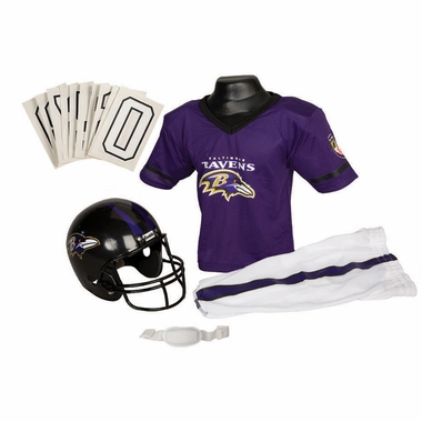 Baltimore Ravens Deluxe Youth Uniform Set - Small