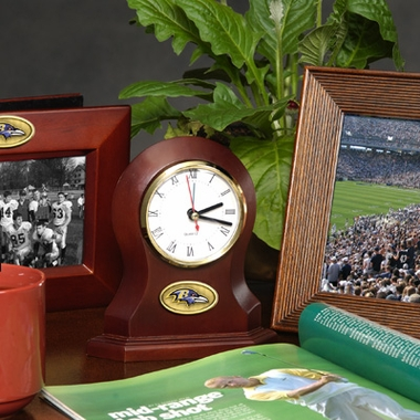 Baltimore Ravens Desk Clock