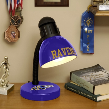 Baltimore Ravens Dorm Lamp
