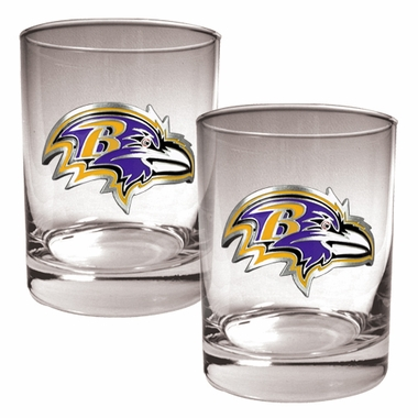 Baltimore Ravens Double Rocks Set