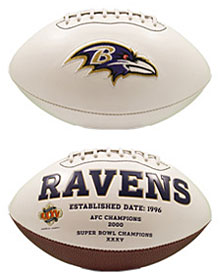 Baltimore Ravens Embroidered Signature Series Football