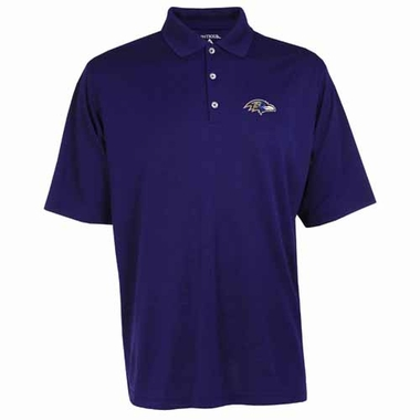 Baltimore Ravens Mens Exceed Polo (Team Color: Purple)