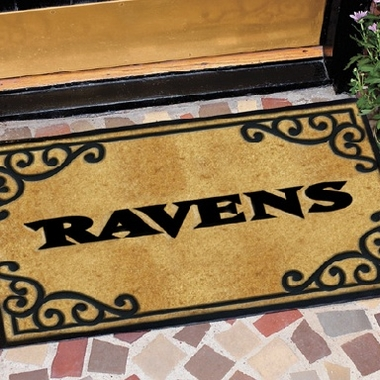 Baltimore Ravens Exterior Door Mat