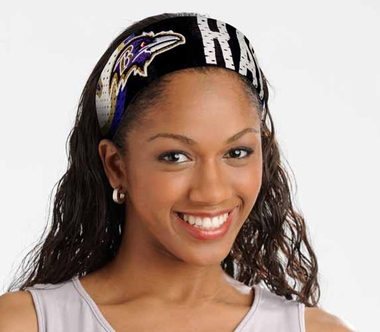 Baltimore Ravens FanBand Hair Band