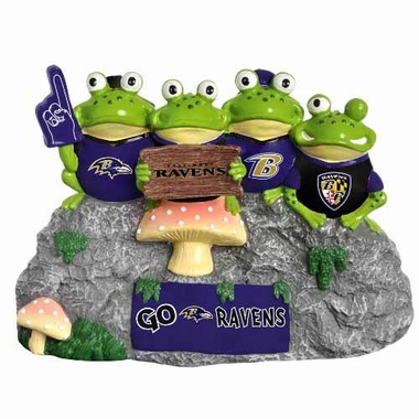 Baltimore Ravens Frog Fan Bench