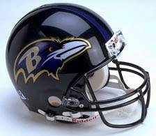 Baltimore Ravens Full Sized Replica Helmet