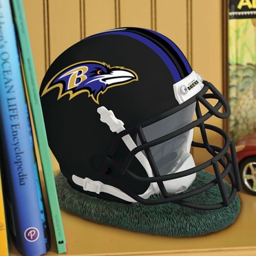 Baltimore Ravens Helmet Shaped Bank