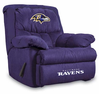 Baltimore Ravens Home Team Recliner
