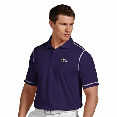 Baltimore Ravens Mens Icon Polo (Team Color: Purple)